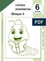 6to Grado - Bloque 3 - Ejercicios Complementarios.pdf