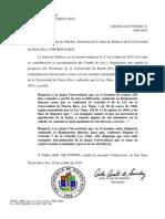 JS CERTIF 31 2010-11 Re. Orden Enmendar to Para Voto Secreto y Declarar Nula
