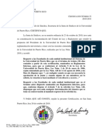 JS CERTIF 33 2010-11 Orden a des Enmendar Reglamentos Cumplir Voto Directo