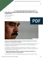 Crisis en Venezuela_ _La Factura Puede Durar Muchos Años_, El Costo Para La Izquierda Latinoamericana de La Situación en El País Sudamericano - BBC News Mundo