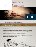Hemorragias de la 2da mitad del embarazo Robert Antezana.pptx