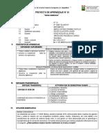 PROYECTO DE APRENDIZAJE I  2º PRUDENCIO.docx