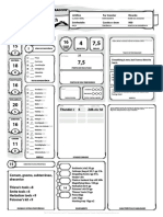 D&D 5E - Ficha de Personagem Completável Zrildrack