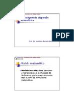 Biologia - Ecologia - Poluição Atmosférica III - Modelagem de Dispersão