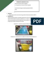 Informe de Consumo de Agua