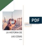La Historia Entre Las Cosas-catalina Osuna