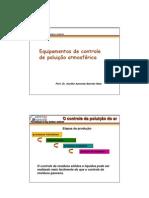 Biologia - Ecologia - Poluição Atmosférica IV - Equipamento de Controle