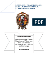 PERFIL Allpachaca REFORMULADO