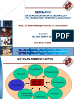 1. La Gestión Presupuestaria en Las Universidades - NS