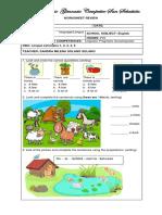 Worksheet Review Third Grade