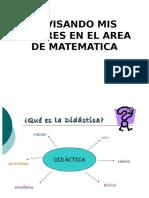 Revisando Mis Saberes en El Area de Matematica