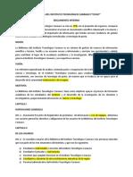 BIBLIOTECA INSTITUTO TECNOLÓGICO CARANAVI.docx