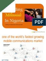 Decoding Millennials in Nigeria