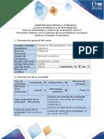 Guía de Actividades y Rúbrica de Evaluación-Tarea 2 Presentar Informes Con La Solución de Los Problemas Conceptos Básicos y Estados Financieros