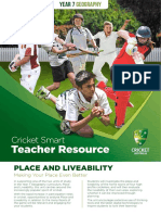 cricketsmart teacher yr7 geography
