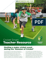 cricketsmart teacher yr5 6 integrated case study