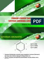 02. Prinsip Dasar Sintesis Senyawa Aromatis