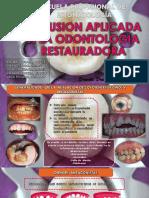 Oclusion Aplicada a La Odontologia Restaurañdora