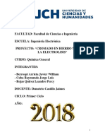 Proyecto Química Electrolisis Final PDF