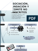 Organizaciones No Inscritos