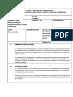 Programa PNL Para Docentes 2019