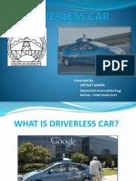 Driverless Car(Made by Satyajit Gayon)
