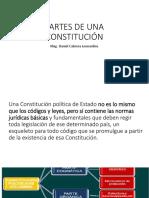 Partes de Una Constitución