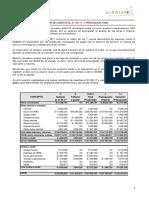 08. Informe Mayores Costos Finales 2017