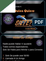 Quien Quiere Sacarse Un 7 Historia de Chile 1