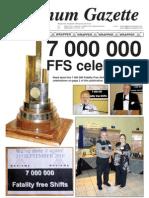 Platinum Gazette 29 October 2010