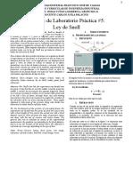 Práctica _ Ley de Snell