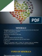 Minerals Basic