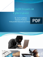 Copyright Issues in Cyberspace