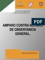 Amparo Contra Normas de Observancia General Asociacion de Abogados Litigantes