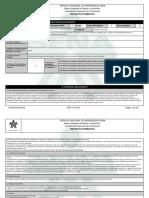 Reporte Proyecto Formativo - 1787107 - Desarrollo de La Política Públ