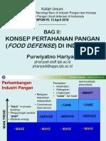 BPOM-2018-Purwiyatno Hariyadi -Intro to Food Defense