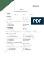 CUCET Previous Year Paper 10 Recruitmentresult.com