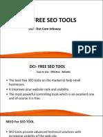 DCI - Free SEO Tools