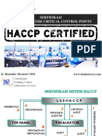 5 Sertifikasi HACCP