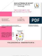 Elaborada Tolerancia Inmunitaria