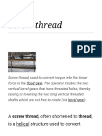 Screw Thread - Wikipedia