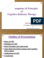 Basic assumptions principles of cbt