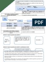 Texto Expositivo Ficha de Análisis, Planificación