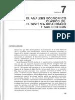 El Sistema Ricardiano Ekelund y Hebert Historia de La Teoría Económica