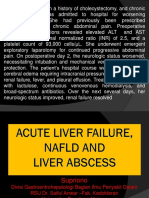 IPD - ALF & abses liver