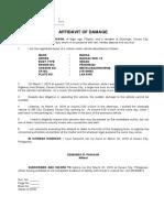 affidavit of damage.docx