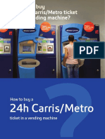 Ticket Vending Machines - Portugal