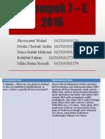 KELOMPOK 7 - E 2016.pptx