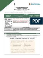 SESION DE APRENDIZAJE 2do grado.docx