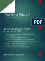 Morning Report 2